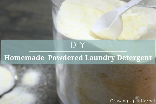 DIY: Homemade Powdered Laundry Detergent