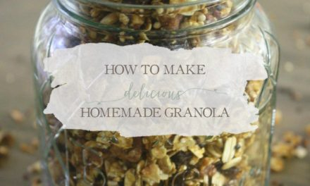 How To Make Delicious Homemade Granola