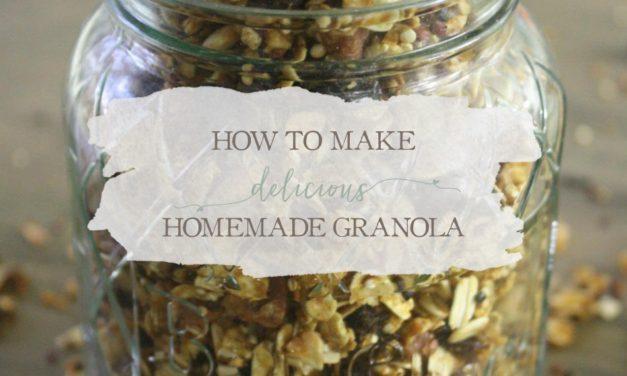How To Make Delicious Homemade Granola