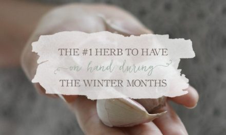 The #1 Herb To Have On Hand During The Winter Months