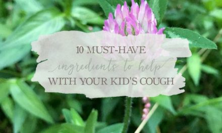 10 Must-Have Ingredients To Help With Your Kid's Cough