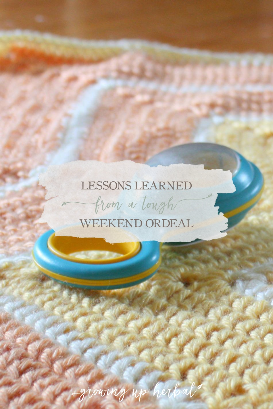 Lessons Learned From A Tough Weekend Ordeal