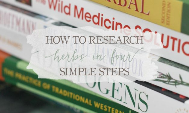How To Research Herbs In Four Simple Steps
