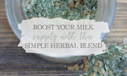 How To Boost Your Milk Supply With This Simple Herbal Blend