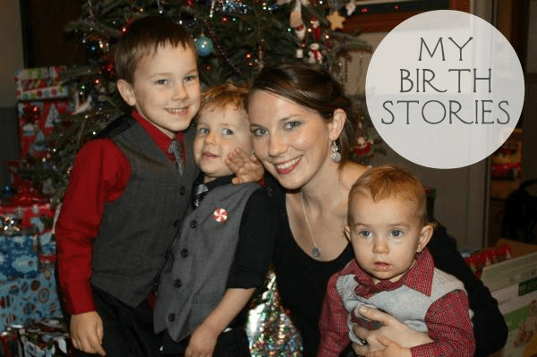 Listen Up! I'm Sharing My Birth Stories!