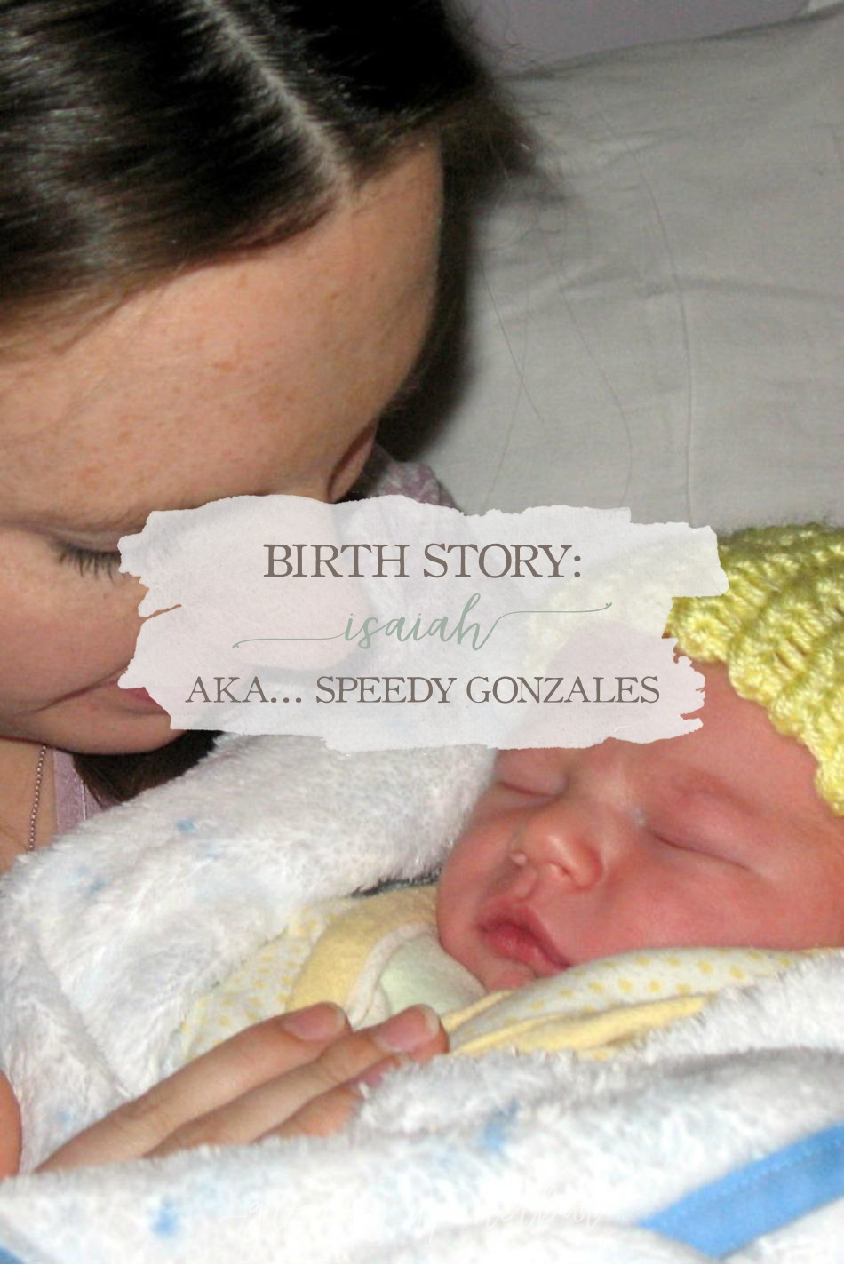 Birth Story: Isaiah - AKA... Speedy Gonzales | Growing Up Herbal | I'm sharing about the exciting birth of my second baby, Isaiah, today on the blog!