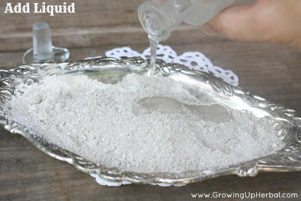 anti-itch oatmeal paste