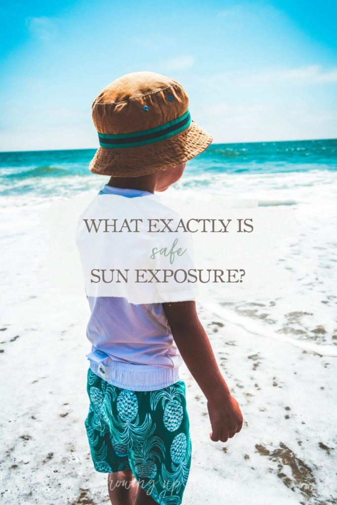 What Exactly Is SAFE Sun Exposure? | Growing Up Herbal | Curious what safe sun exposure looks like? Here are three tips for staying safe in the sun.