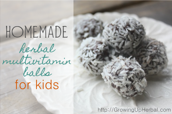 Herbal Vitamin Balls - www.GrowingUpHerbal.com