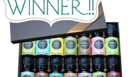 Eden's Garden Beginners Essential Oil Kit Winner
