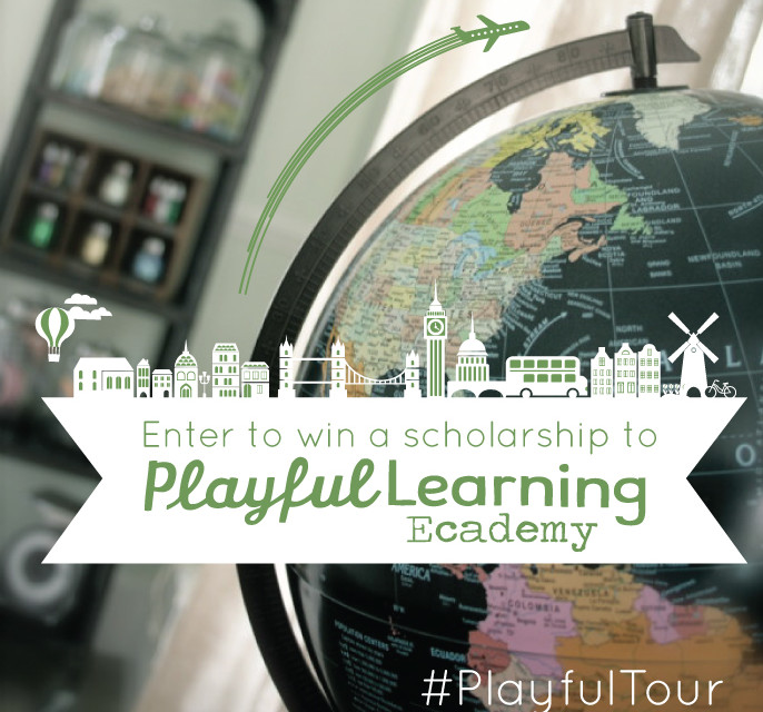 Win A Scholarship To The Playful Learning Ecademy!