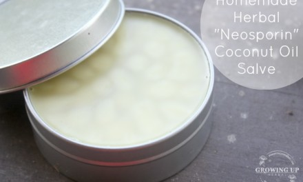 "How To Make an Herbal ""Neosporin"" Coconut Oil Salve"
