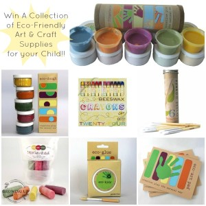 Eco-Friendly Kids Art & Craft Supply Giveaway | GrowingUpHerbal.com