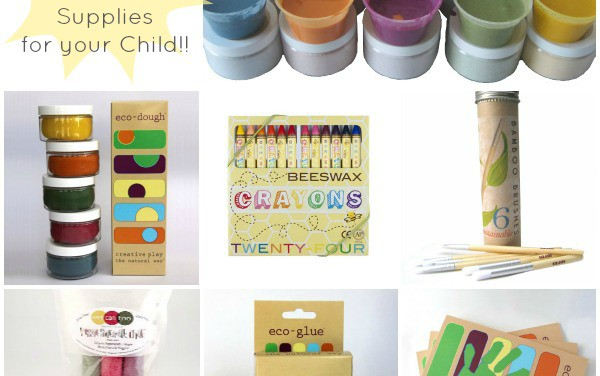 Win A Collection of Eco-Friendly Art & Craft Supplies For Your Child