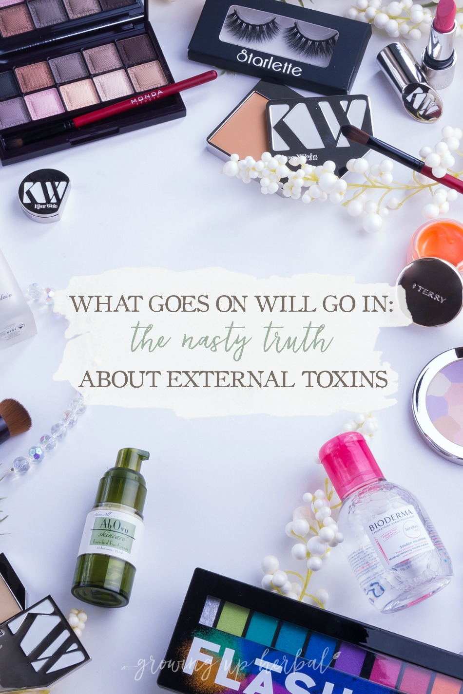 What Goes On Will Go In: The Nasty Truth About External Toxins | Growing Up Herbal | Have you ever wondered whether the everyday products you use in your home are negatively affecting your health or not? Chances are they are. How will you make the switch to a more non-toxic lifestyle?