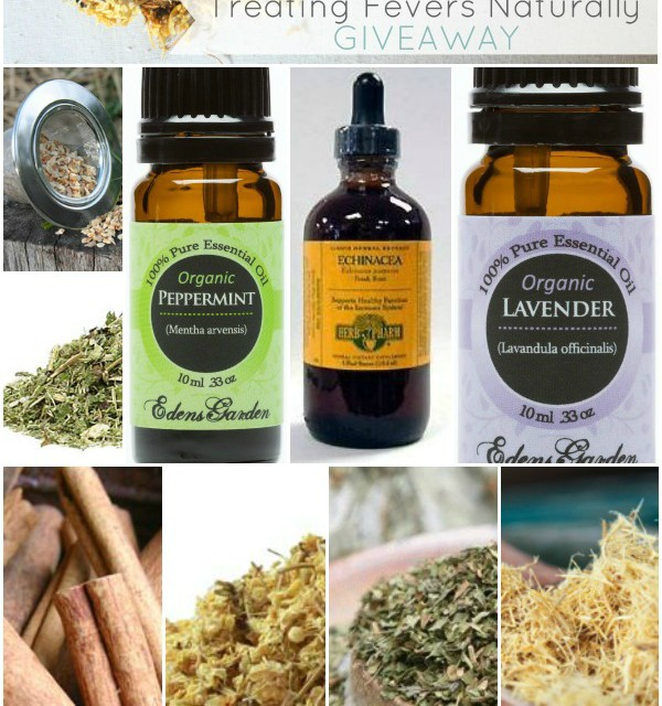 Treating Fevers Naturally Giveaway: Winner Announced