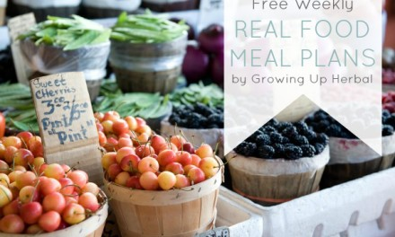 Free Weekly Real Food Meal Plan: February 9-15