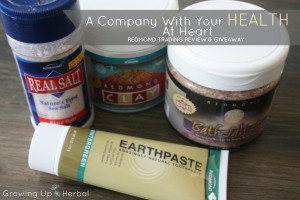 Redmond Trading: A Company With Your Health At Heart - Review/Giveaway