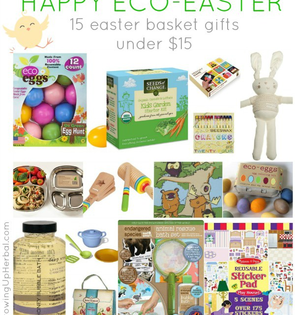 Happy Eco-Easter: 15 Easter Basket Gifts Under $15