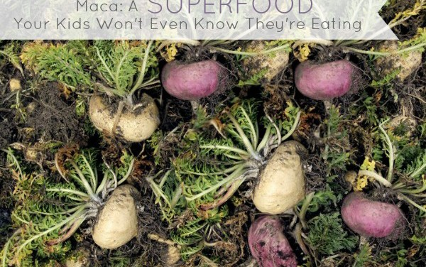 Maca: A Superfood Your Kids Won't Even Know They're Eating. Plus A Nice Discount & Giveaway Too!