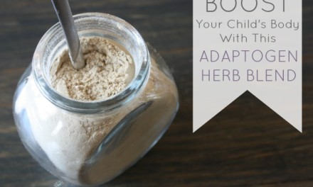 Boost Your Child's Body With This Adaptogenic Herb Blend