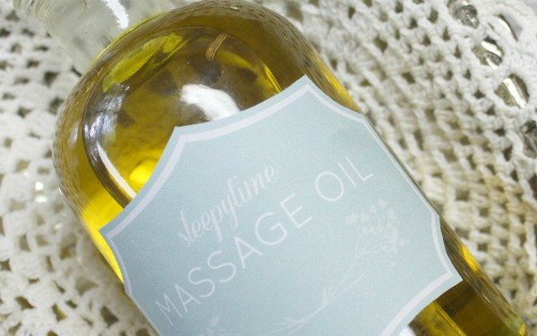 DIY: Sleepytime Massage Oil For Babies and Children