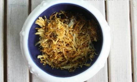 Learning Herbs: Calendula Herb Challenge – Week 3