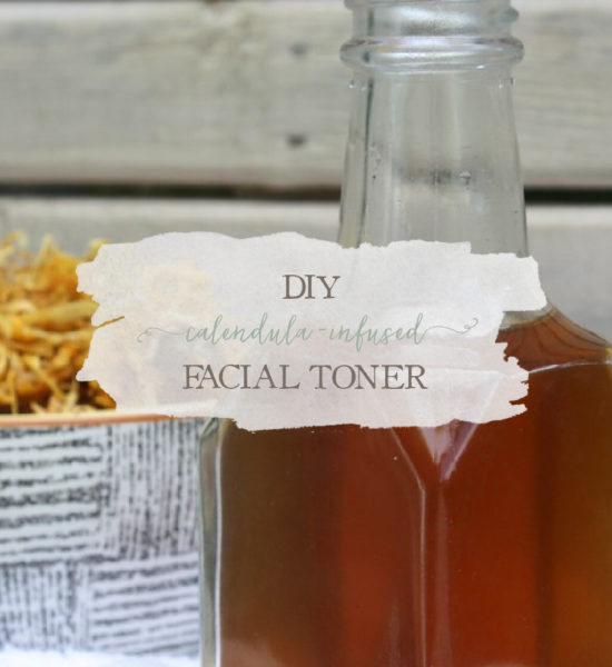 DIY Calendula-Infused Facial Toner