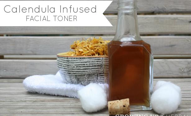 Homemade & Healthy: Calendula Infused Facial Toner