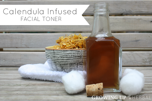 Homemade & Healthy: Calendula Infused Facial Toner