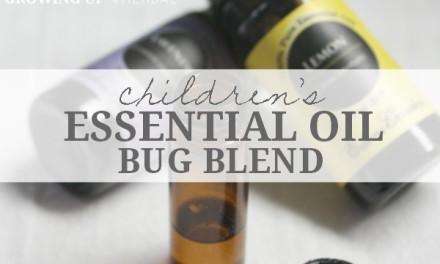 Essential Oil Bug Blend For Children