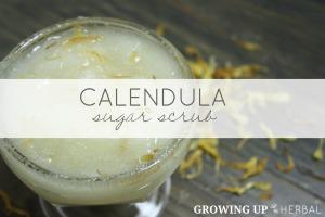 How To Make A Calendula Sugar Scrub