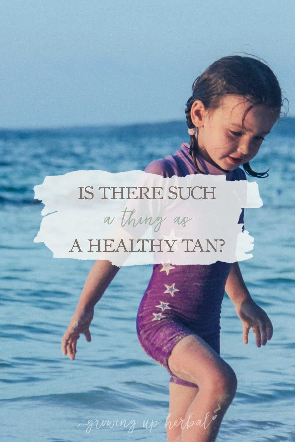 "Is There Such A Thing As A ""Healthy Tan""? 