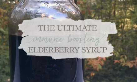 The Ultimate Immune Boosting Elderberry Syrup