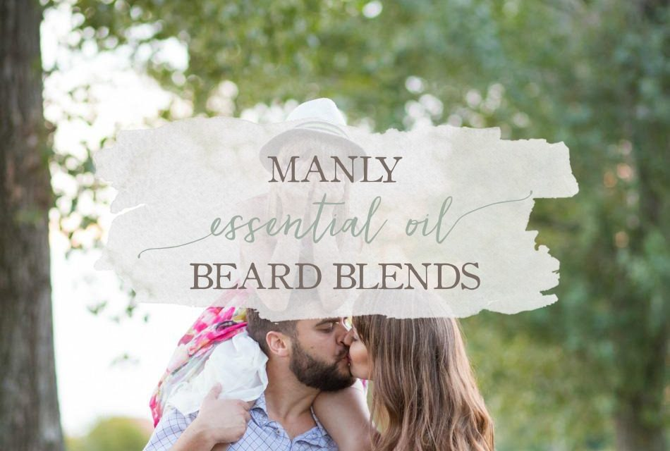 Manly Essential Oil Beard Blends