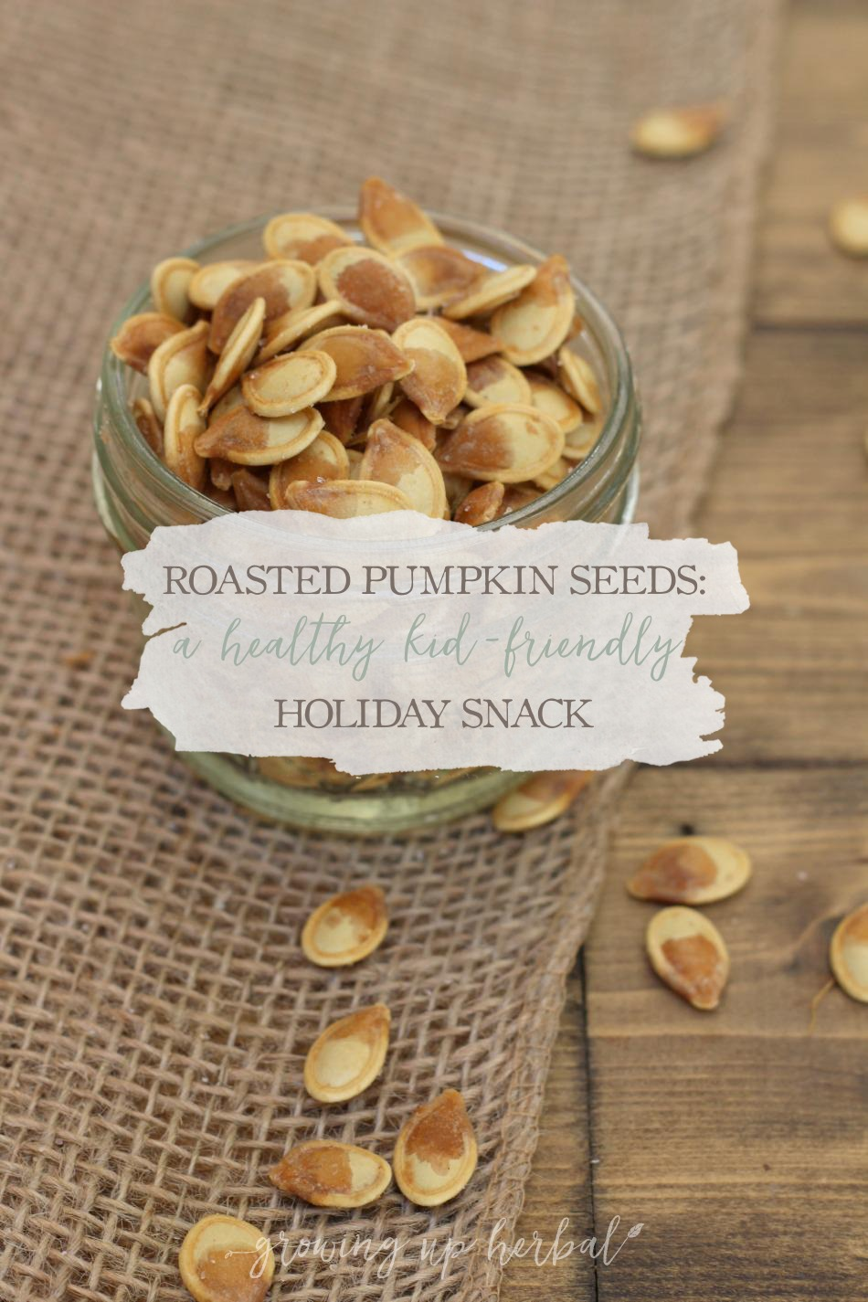 Roasted Pumpkin Seeds: A Healthy Kid-Friendly Holiday Snack