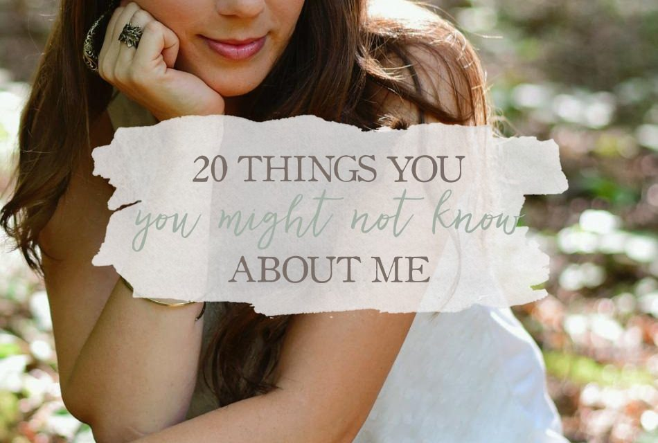 "Let's Have Some Fun: The ""20 Things You Might Not Know About Me"" Blog Tag"