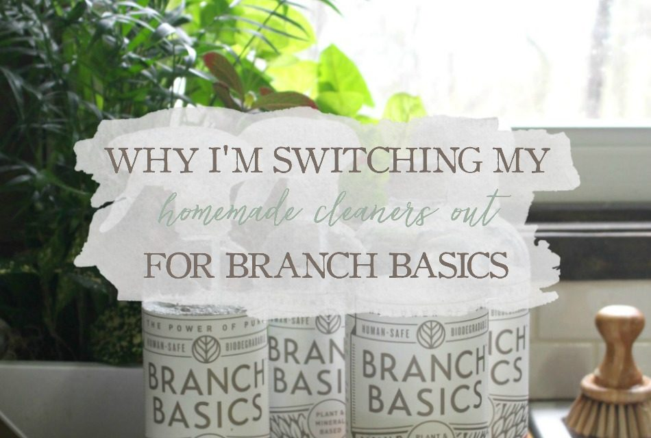 Why I'm Switching My Homemade Cleaners Out For Branch Basics Natural Cleaners