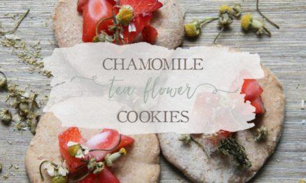 Chamomile Flower Tea Cookies