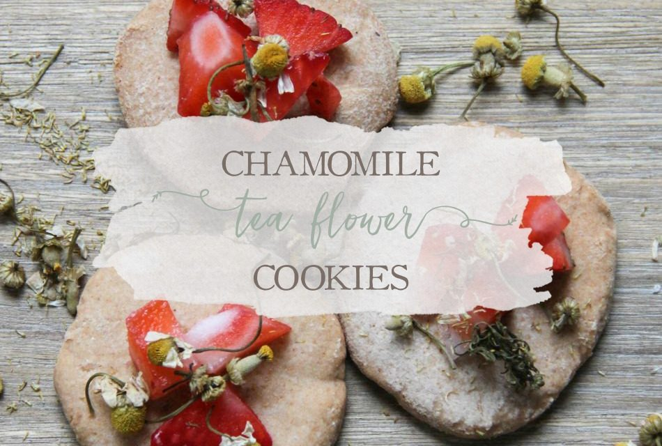 Chamomile Flower Tea Cookies