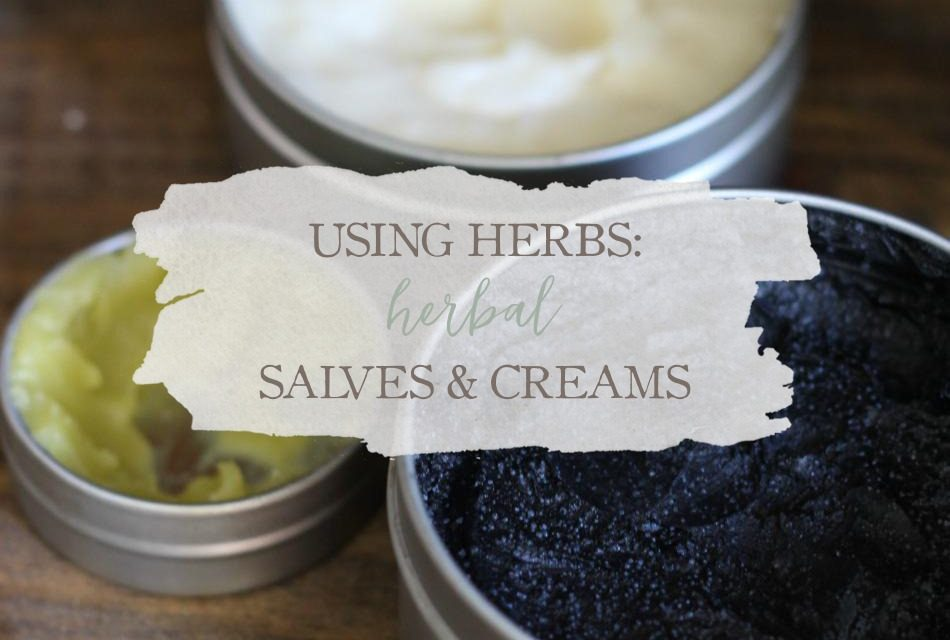 Using Herbs: Herbal Salves and Creams