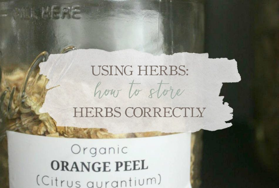 Using Herbs: How To Store Herbs