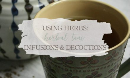 Using Herbs: Herbal Teas, Infusions, and Decoctions