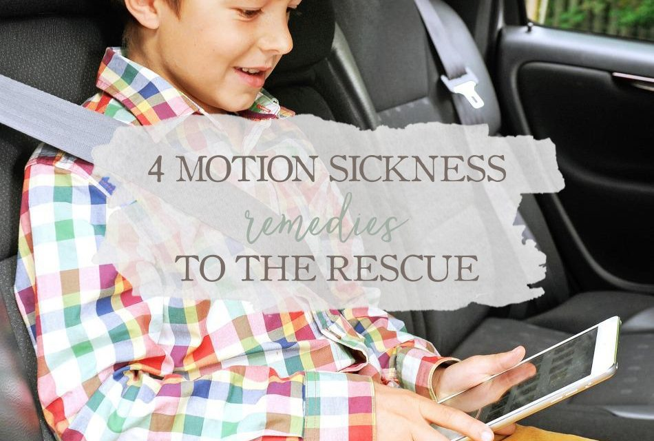 4 Motion Sickness Remedies To The Rescue