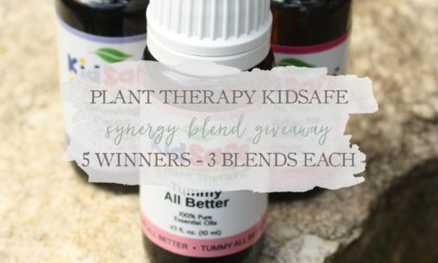 Plant Therapy KidSafe Synergy Blend Giveaway: 5 Winners – 3 Blends Each!