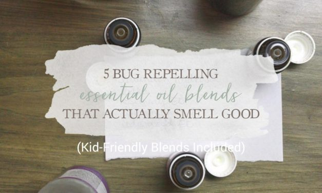 5 Bug Repelling Essential Oil Blends That Actually Smell Good (Kid-Friendly Blends Included)