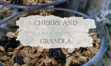 Cherry And Cardamom Granola