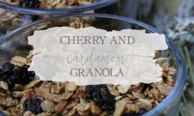 Cherry And Cardamom Granola