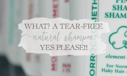 What? A Tear-Free Natural Shampoo? Yes Please!