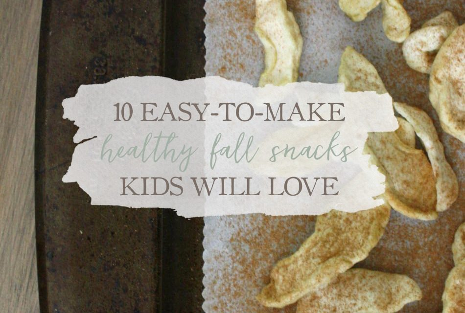 10 Easy-To-Make, Healthy Fall Snacks Kids Will Love